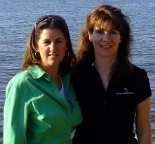 Co-Owner Janet Callaway and Alice Iseminger