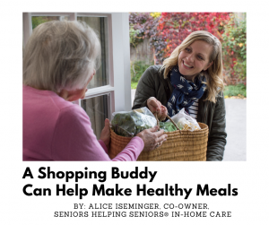 A Shopping Buddy Can Help Make Healthy Meals